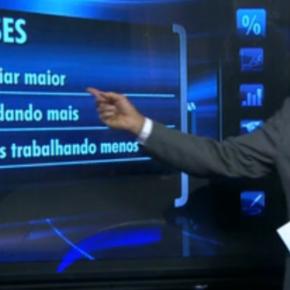 Programa da Globo fala de pesquisa do Datafolha sem mencionar o nome deLula