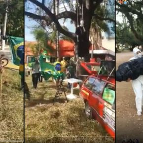 Polícia Civil indicia dois por crime racial  em ato  bolsonarista no Parque Moinhos de Vento, em PortoAlegre
