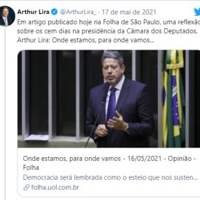 Nos 100 dias de Arthur Lira na Presidência da Câmara, elite vai transformando o Brasil num Colônia Agro Pastoril eextrativista