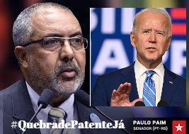 Paim e Biden iguais  (Por ClaudioBrito)