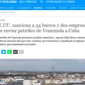 Bloqueio Mortal 2: EUA PROIBEM EMPRESAS E NAÇÕES DE NEGOCIAR COM CUBA. CUBANOS RESISTEM ELUTAM!