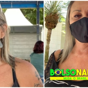 Roubo de Vacina: Mulher que fraudou fila da vacina e debochou ao tomar 3ª dose ébolsonarista