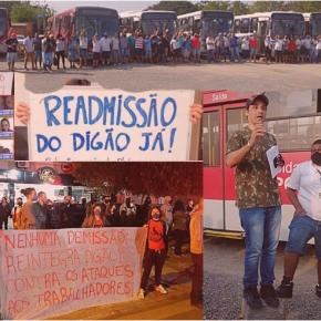 Demitido por defender trabalhadores, Rodoviário Digão ganha reintegração ao trabalho na empresaTinga