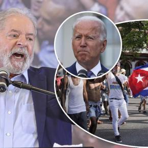 """Lula: """"Se Cuba não sofresse Bloqueio dos EUA, seria uma Holanda, por que tem povo formado, preparado"""""""