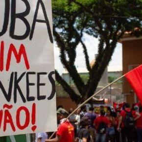 De toda América Latina vem apoio a Cuba e seu povo contra a Intentona Golpista financiada pelosEUA