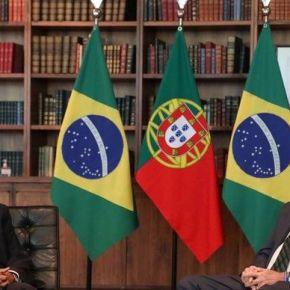 Vergonha pouca é bobagem: Em almoço com Presidente de Portugal, Bolsonaro só contou piadas sobresexo