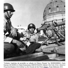 Há 60 anos a Brigada Militar defendia a LEGALIDADE e a Constituição junto com Brizola e o povo . Outrostempos?