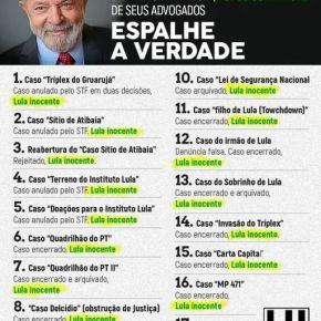 Inconformada com a decisão da Justiça, Folha mente por que quer anular decisões judiciais favoráveis aLula