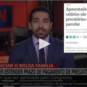 """Para pagar """"novo Bolsa Família"""", Governo quer roubar R$ 40 Bi em precatórios que aposentados receberiam em2022"""