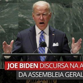 Biden se proclamou o líder da Guerra Híbrida em seu discurso na ONU, avalia José ReinaldoCarvalho