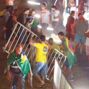 """Foi uma encenação e não uma """"invasão"""" o que houve em Brasília na véspera do 7 desetembro"""