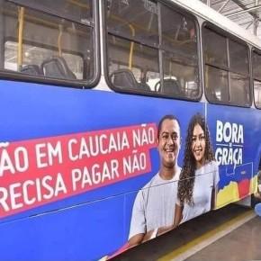 Caucaia tem ônibus de graça a partir desta quarta-feira. Já Porto Alegre quer entregar o Transporte Público para aPrivataria