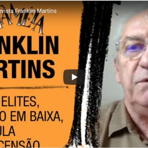 Uma aliança ampla mas não pra ficar passando pano, e sim reestabelecer o Pacto da Constituição de 1988, diz Franklin Martins ementrevista
