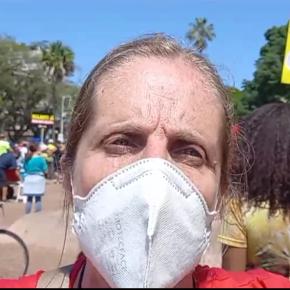 Em festividade da Prefeitura de Porto Alegre na Redenção,  Servidores Municipais desmascaram hipocrisia de Sebastião Melo(Vídeo)