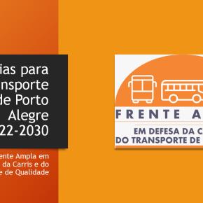 Ônibus em Porto Alegre podem funcionar com Tarifa menor sem Privatizar a CARRIS mostramtrabalhadores