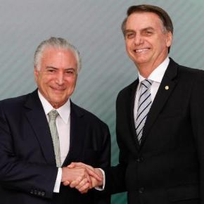 """Experiente em golpes, Temer orientou Bolsonaro a divulgar uma tal """"declaração anação"""""""