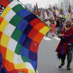 Bolívia se mobiliza em defesa de Wiphala e contra tentativas degolpe