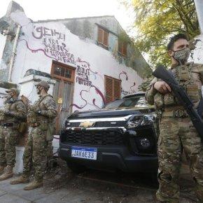 Forte aparato Policial para despejar Cozinha Solidária da Azenha apesar do apoio davizinhança