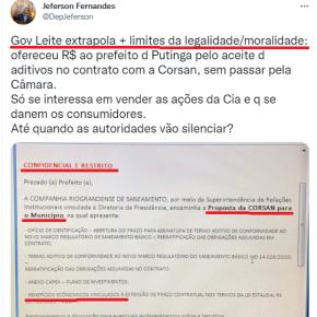 """Suborno institucionalizado: Para Eduardo Leite e a mídia, """"comprar"""" Deputados e Prefeitos faz parte """"dos limites da legalidade"""""""