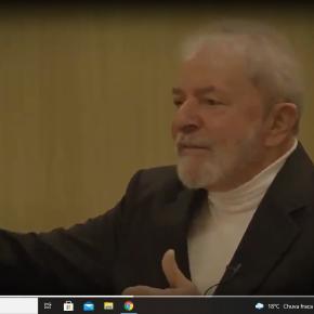 """Lula fala sobre manifestações, narrativas e mostra as """"cascas de bananas""""(Vídeo)"""