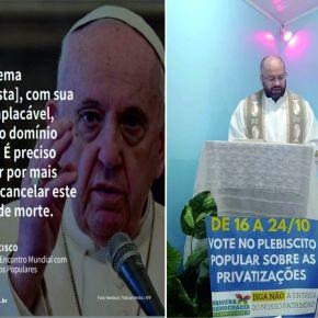 O Papa, o Padre e o Plebiscito Popular Sobre as Privatizações noRS