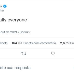 """""""Oi, literalmente todo mundo"""": Twitter 'debocha' de queda de serviços doFacebook"""